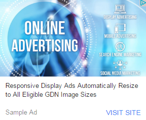 Google's new Responsive Ads allow marketers to reach additional GDN inventory in a more appealing manner than text display.