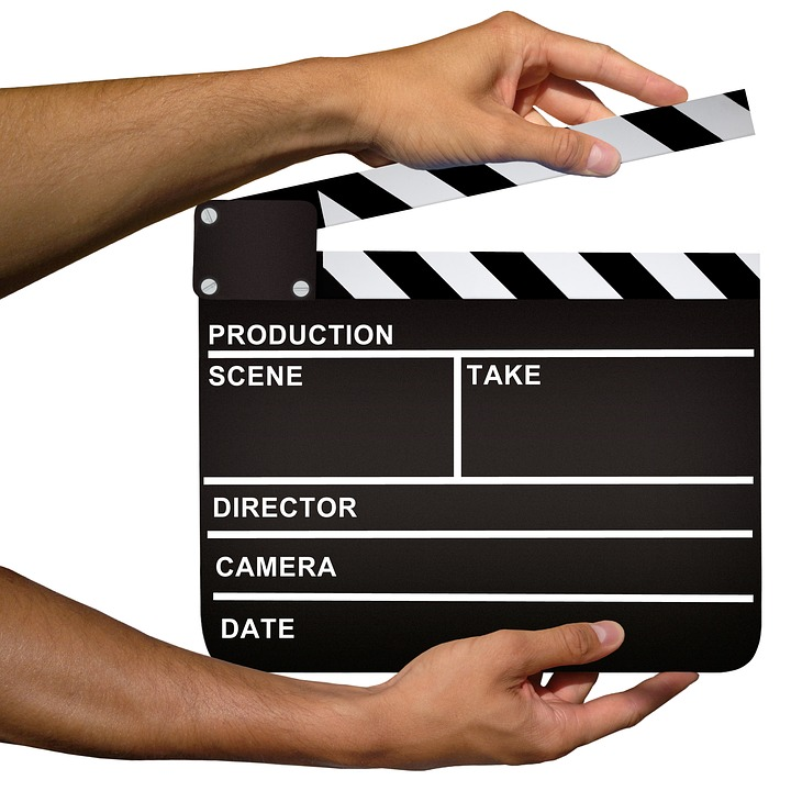 Filmmaking Clapboard