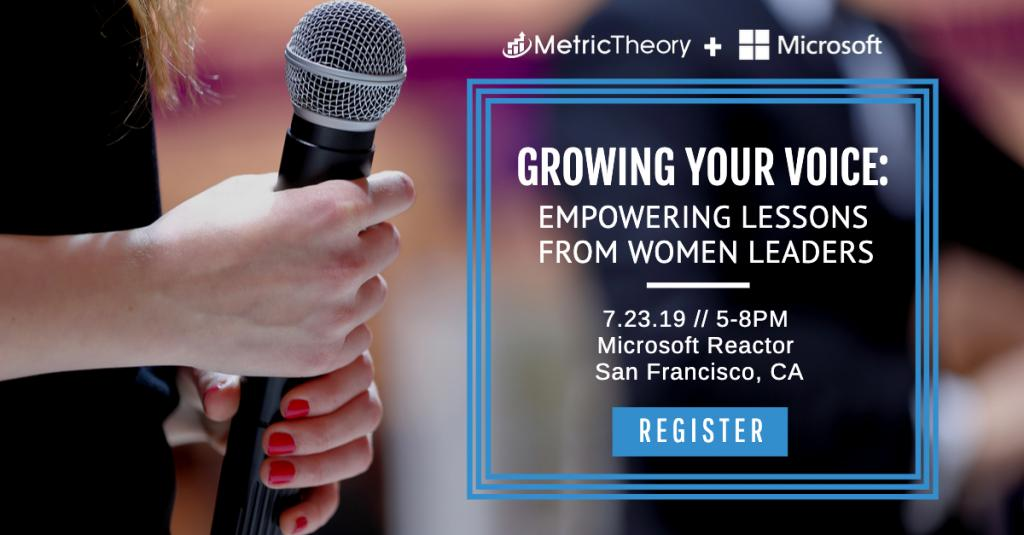 Announcing a Panel Event for Women in Leadership in Partnership with Microsoft Advertising