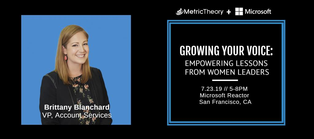 Women in Leadership Interview Series: Brittany Blanchard
