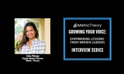 Women in Leadership Interview Series: Talia Pilorge