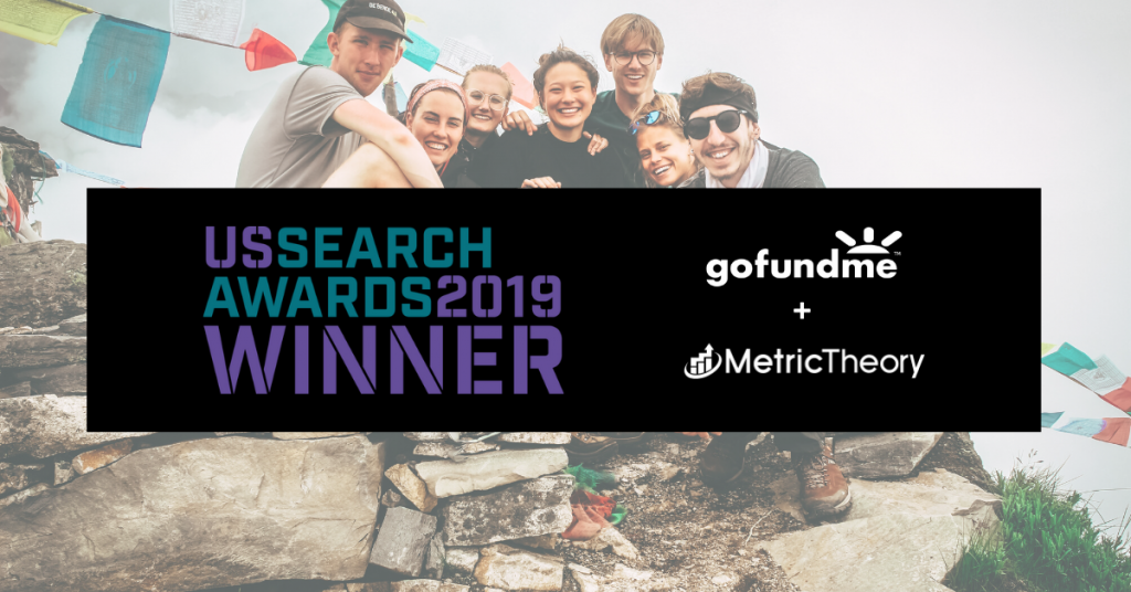 Metric Theory & GoFundMe Win at the US Search Awards