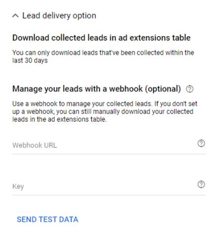 Lead Form Extension Betas