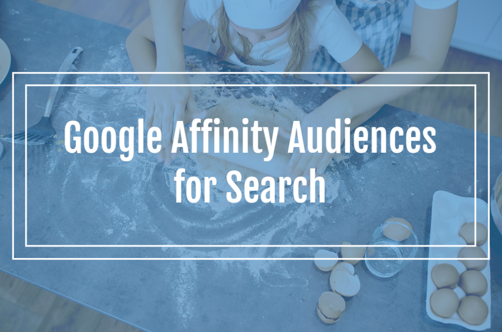 Google Ads Affinity Audiences for Search
