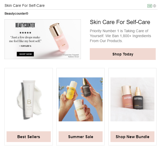 Catalog Images: Make your Gmail ads even more engaging by adding in catalog images